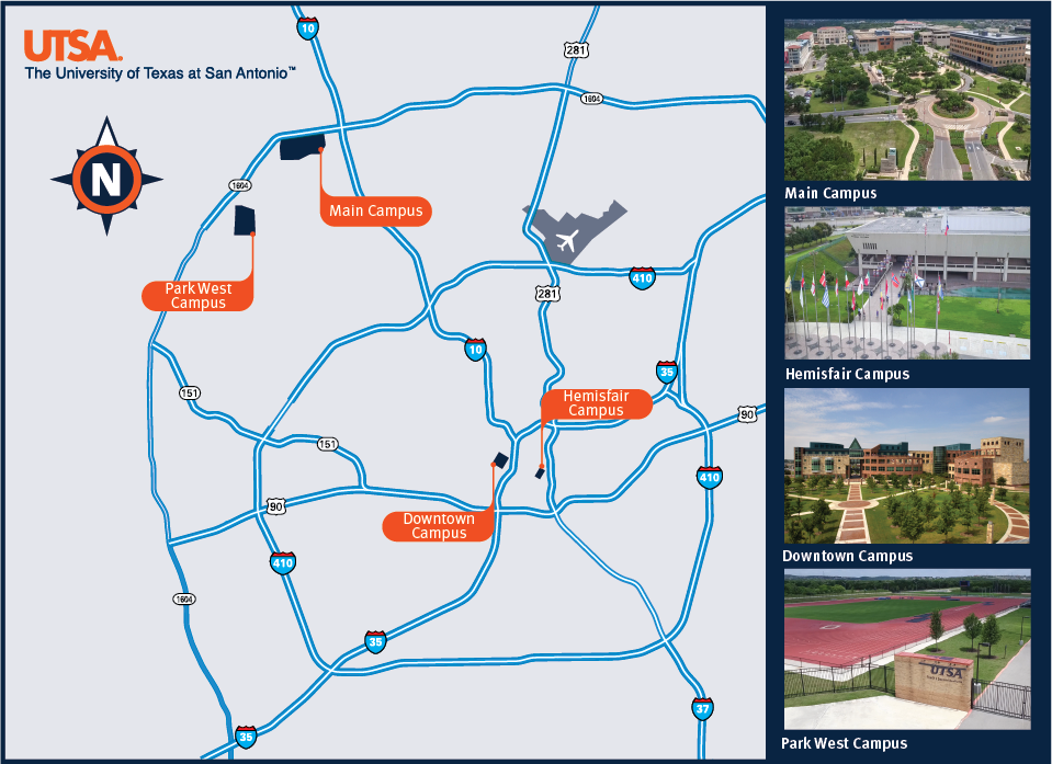 Four Campuses Map