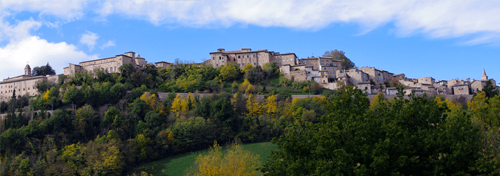 Buildings in Urbino