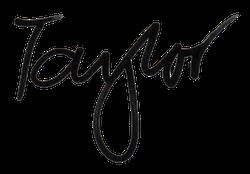 Taylor Eighmy signature