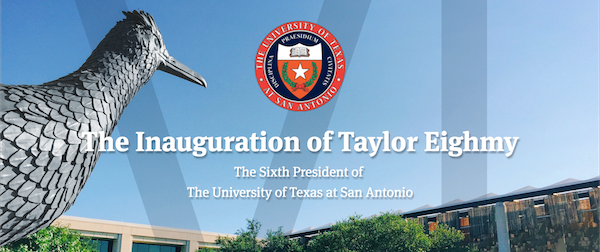 The Inauguration of Taylor Eighmy