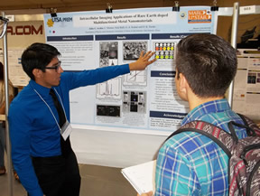 student and research poster