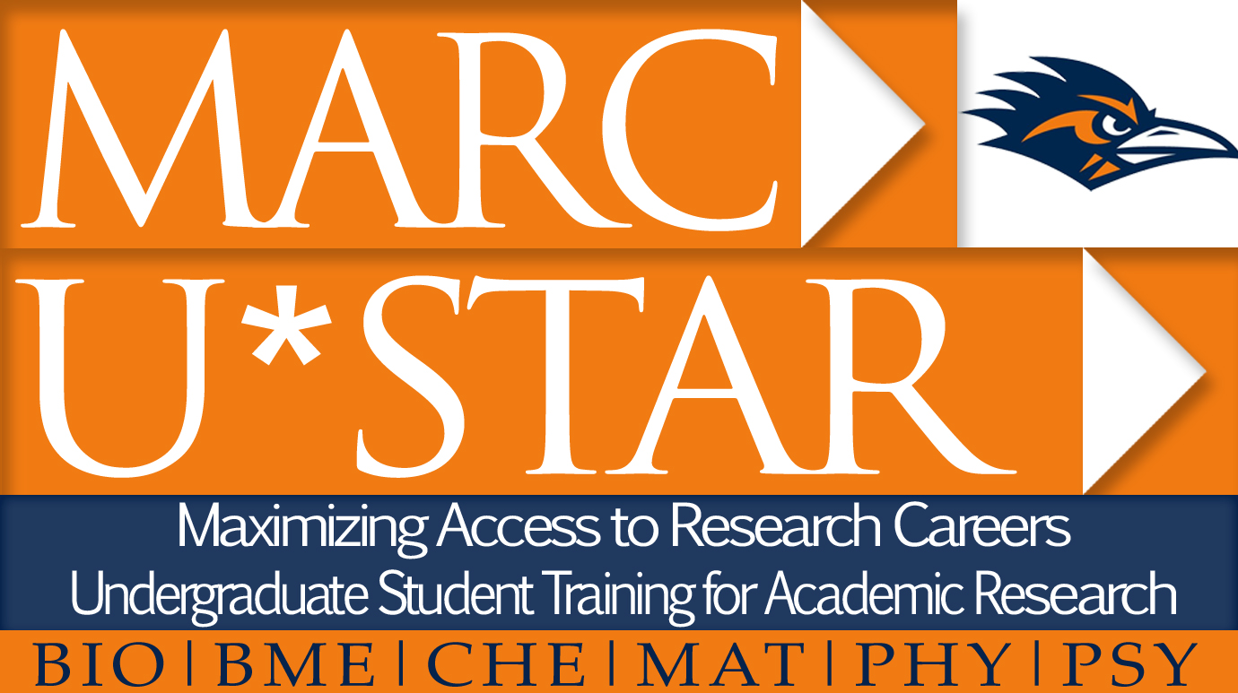 MARC U*STAR Logo ...  Utsa Resume Template