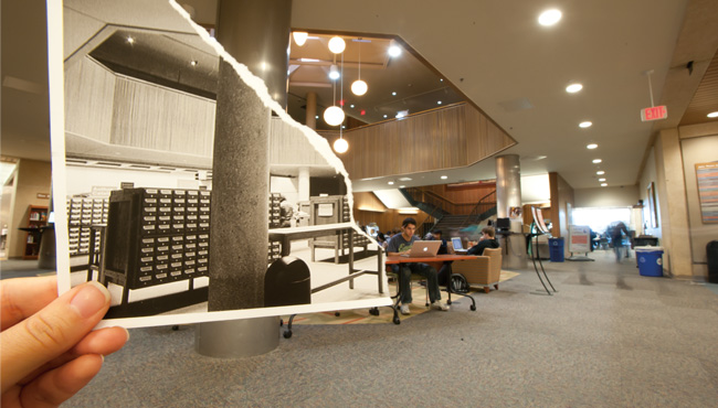 Then and Now John Peace Library