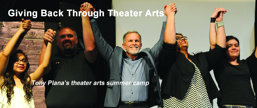 Giving Back Through Theater Arts