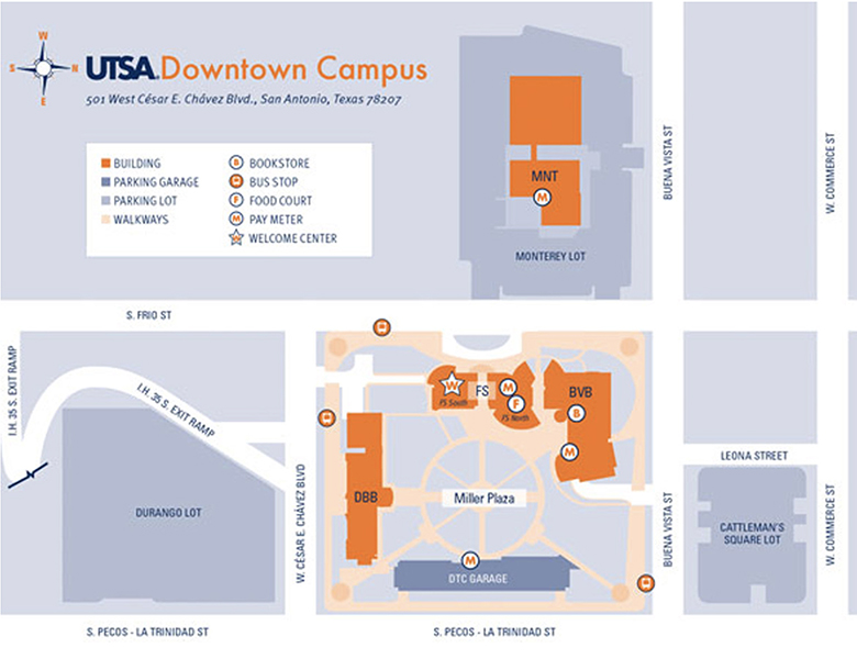 Utsa Downtown Campus Map Five ways to get to and around UTSA | UTSA Today | UTSA | The