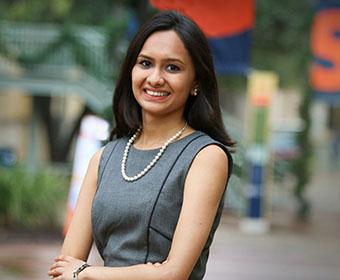 Honors student Shruti Sinkar is raising awareness about homelessness and hunger