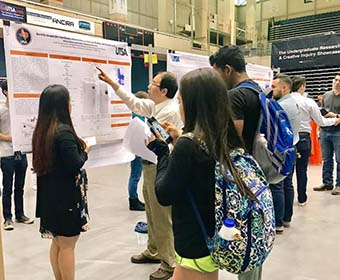 Scholars shine at the UTSA Undergraduate Research and Creative Inquiry Showcase