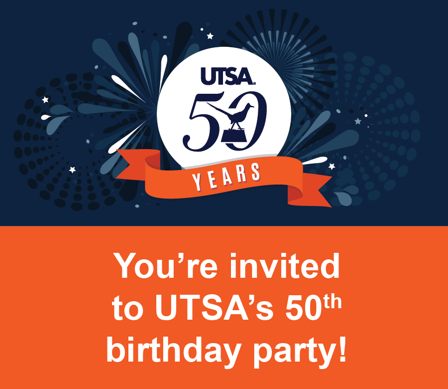 UTSA 50th Birthday