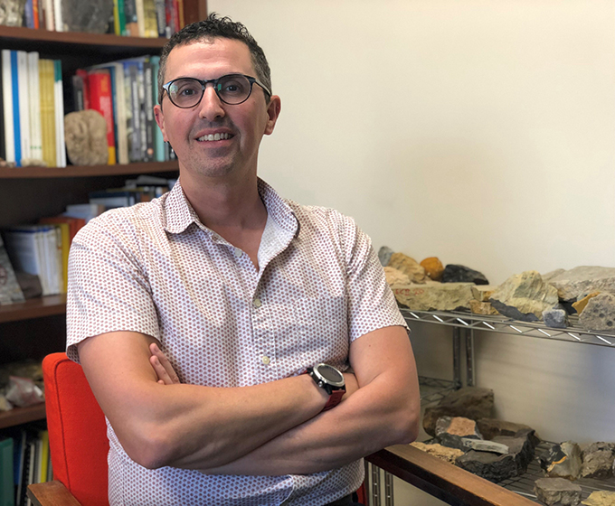 Alexis Godet receives NSF CAREER Award to research the resiliency of the ancestors of coral reefs