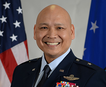 Jimmy Canlas '92: From spinning records at UTSA to Brigadier General