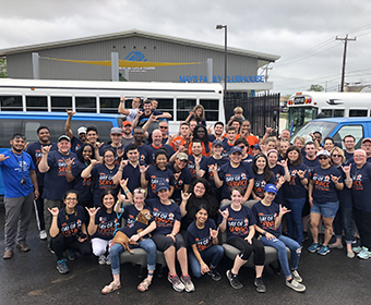 Join Roadrunner Nation to give back during UTSA Day of Service on March 2