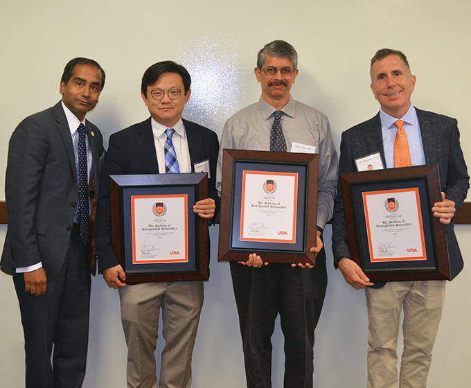 The UTSA Academy of Distinguished Researchers inducts three faculty members