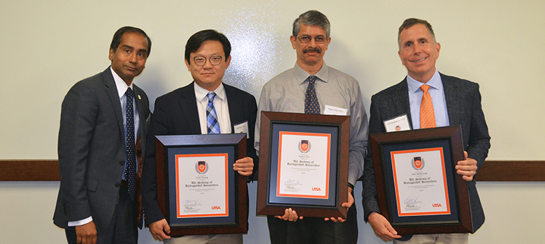 The UTSA Academy of Distinguished Researchers inducts three