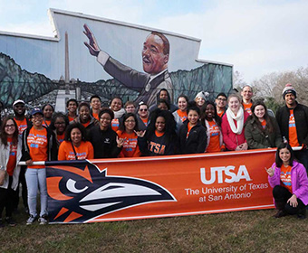 UTSA remembers Rev. Dr. Martin Luther King Jr.
