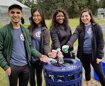Utsa S Recycling Program Scores Gold From Reworkssa