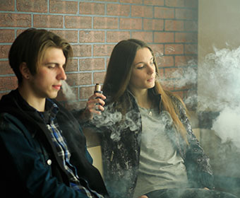 UTSA study shows vaping is linked to adolescents' propensity for crime