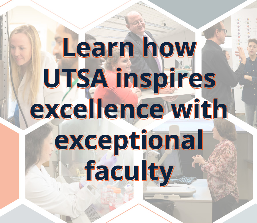 UTSA Exceptional Faculty CTA