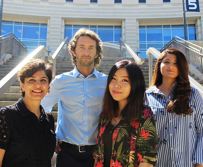 International Service's Fulbright scholars make their mark at UTSA
