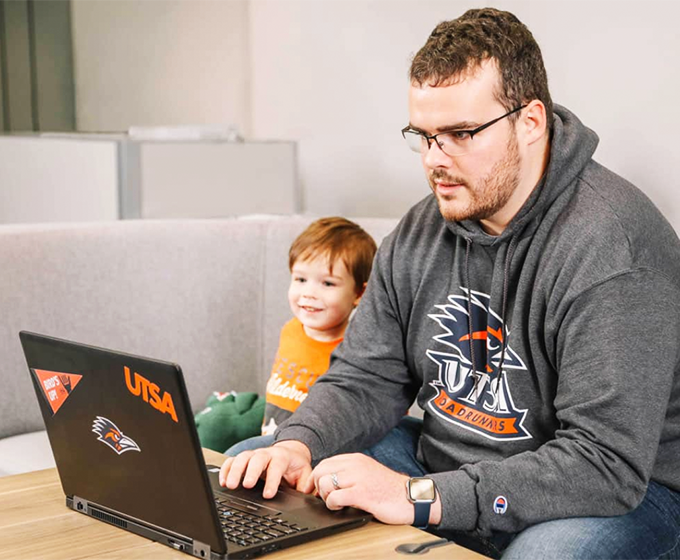 UTSA's growing online degree programs offer students flexibility