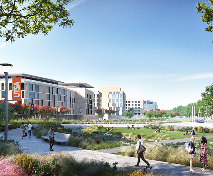 University receives merit award for its new Campus Master Plan