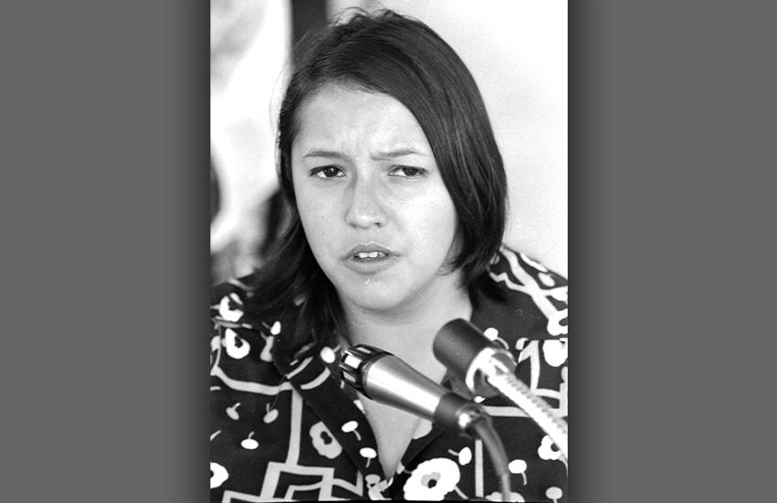 Community organizer and activist Maria del Rosario Rosie Castro M.A. 83