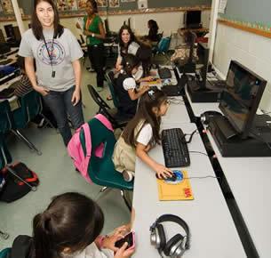 Las Palmas Elementary Students