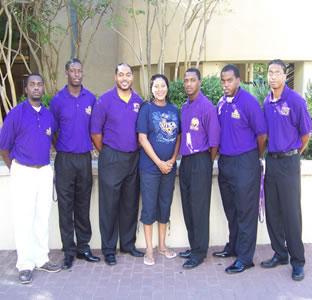 Omega Psi Phi members