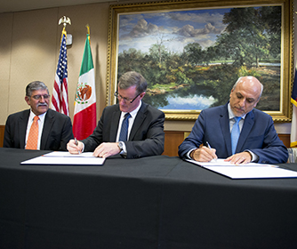 UTSA to serve as home of new UT System partnership with Mexico tech council