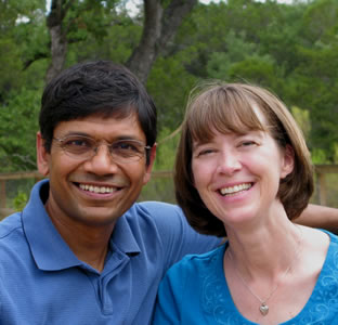 Mauli Agrawal and Sue Agrawal