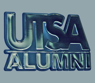 UTSA car medallion