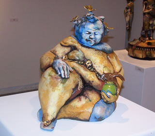 ceramic exhibit