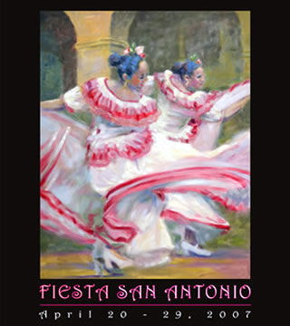 Fiesta San Antonio poster
