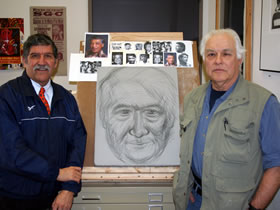 Ricardo Romo and Luis Jimenez