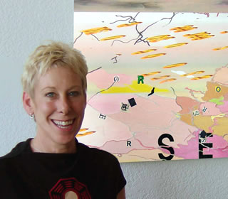 artist Sabina Ott