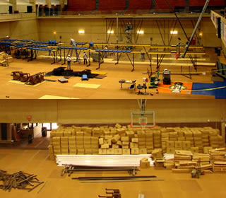 Bleachers construction