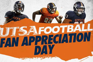 UTSA Football Fan Appreciation Day