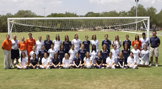 UTSA women's soccer team