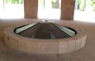 Biosciences fountain