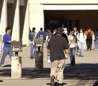 1604 Campus walkway