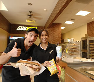 Subway staff