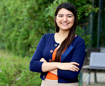 Carla Juarez guides other first-generation students at UTSA through the unknowns of college life.