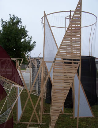outdoor architecture exhibit