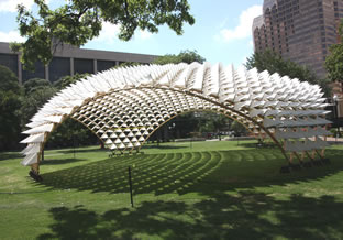 installation at Travis Park