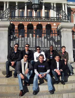 UTSA Investment Society members at Harvard