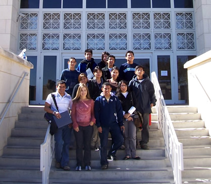 Peruvian students