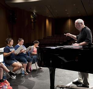 opera rehearsal