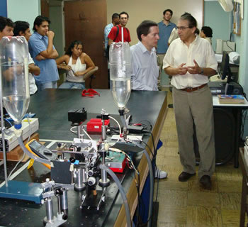 Colombian students and professors