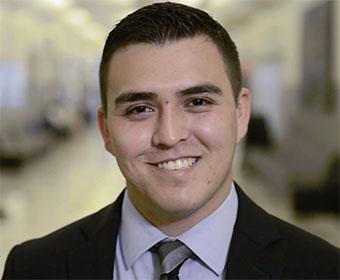 UTSA finance major Freddie Cuellar is ready to help local businesses grow