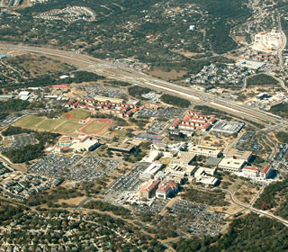 Main Campus aerial view