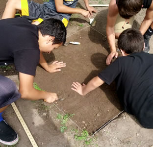 archaeology camp